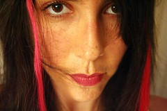 Pink&Red (Nfer) Tags: pink red selfportrait me hairextension