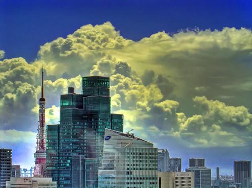東京タワー│建物│無料写真素材