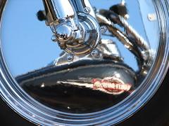 Born to Ride (Roger Smith) Tags: abstract reflection wheel closeup mississippi distorted rally tire harley chrome harleydavidson motorcycle starkville rim hog sturgis gastank rogersmith littlesturgis sturgissouth