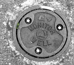 monitor well (pamelakliment) Tags: manholecovers kliment pamelakliment