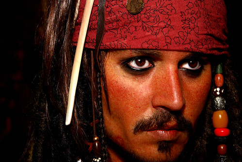 Johnny Depp, Pirates of the Caribbean; ← Oldest photo