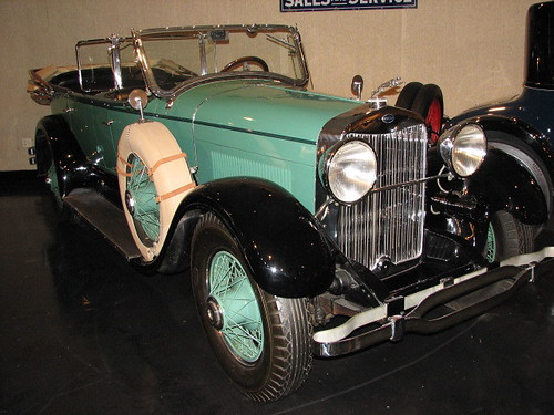 1928 Lincoln Sport Touring by rbglasson.