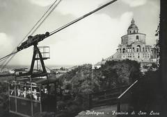 Ex funivia Bologna - San Luca (Moriarty) Tags: 1931 bologna funivia 1976 cartolina passato vecchia ricordo sanluca