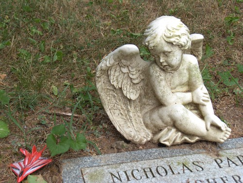 Nicholas dies and family leaves tribute