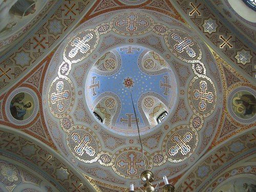 Interiors (cupola) of Foros Church (2005-09-309)