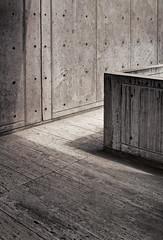 Salk Side Court (ken mccown) Tags: light architecture concrete modernism salkinstitute louiskahn