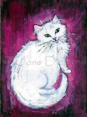 Gretchen (Kitty Angel) cat painting by Jane Diamond (Jane (on break)) Tags: cat cats kitten catart catpainting painting petart petpaintings feline whitekitten longhairedkitten white pink green blue gretchen kitty acrylicpainting janediamond janediamondsart felinepainting whitecat furangel wigglyville wigglyvillepetboutique chicago artmewvodesigns efa janediamonddesigns etsy etsyforanimals paintingjanediamond cutekitty fluffykitty incatlandwithjane odetogretchen cute sweet jane diamond catartist catland withjaneincatland vegan veganartist catlover animallover petpaintingportrait cutecatpainting cutekittypainting gretchendiamond kittyangel catangel