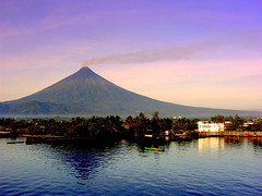 Mt. Mayon before the eruption - by shot-goon