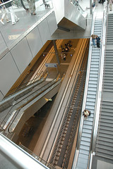 modern times (claude05) Tags: berlin station germany escalator central thumbsup deutschebahn moderntimes mainstation movingstaircase stairmoving challengeyou movingstair germanrail cywinner
