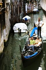 gondole* 03 (* tathei *) Tags: travel venice people italy water canon river eos boat canal europe italia 5d gondola dslr venezia gondole 28135mmis