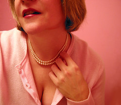 cashmere (tamelyn) Tags: pink selfportrait me self sweater pearls cashmere lipstick 365 day18 luxury projectinsight luxurious 365days bringingsexyback 365exhib