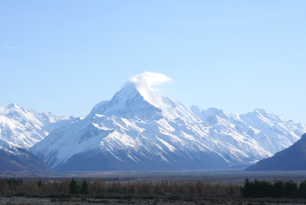 Mt. Cook on the whole