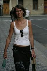 Maria (toshi69) Tags: city summer portrait people sexy topv111 shopping cool topv333 prague maria prag topv222 topv300