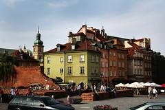 mix of colours (* tathei *) Tags: city travel building architecture canon eos europe poland polska warsaw 5d dslr warszawa 28135mmis
