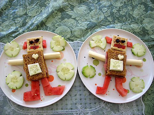 Robots for Lunch