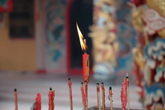 The last One standing (tree22) Tags: travel temple asia buddhist malaysia incense
