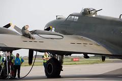 Lydd Airshow 2006 113 ([ Greg ]) Tags: plane flying airport aeroplane airshow b17 fortress sallyb lydd canonef100400mmf4556lisusm lyddairshow gbedf