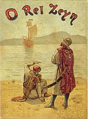 O Rei Zeyn, book cover