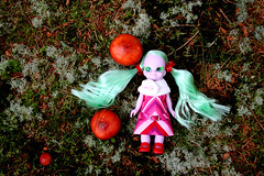 High (Helena / Funny Bunny) Tags: nature doll 1972 embla funnybunny emeraldwitch 060910 shroomhunt