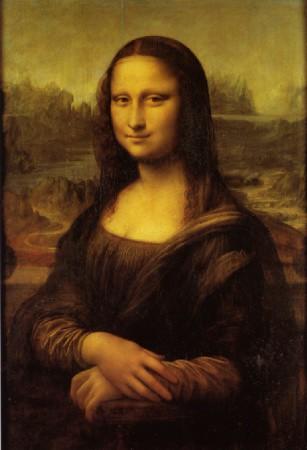 2) Gioconda Louvre Parigi
