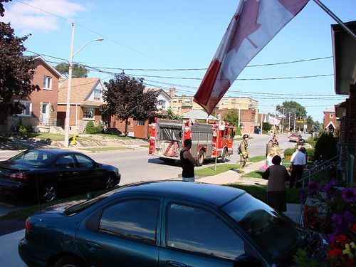 Fire truck Toronto