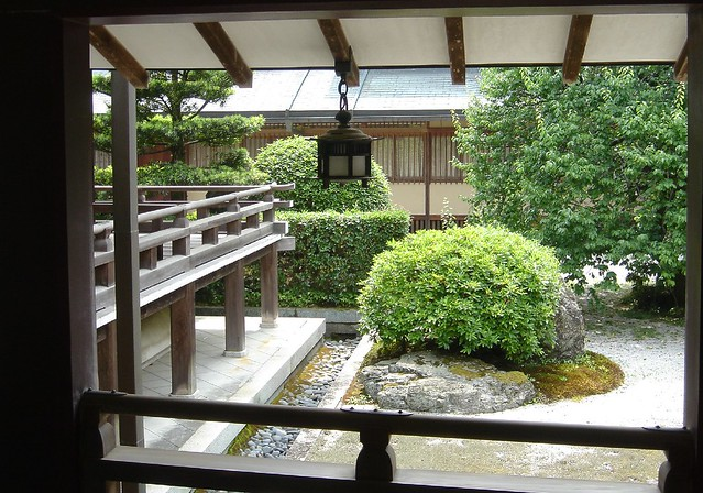 Saiho-ji view