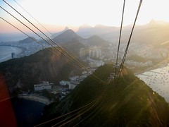 Beaches and mountains of Rio (Walt K) Tags: brazil mountains rio brasil copacabana cablecar beaches sugarloaf paodeacucar dejaneiro waltk