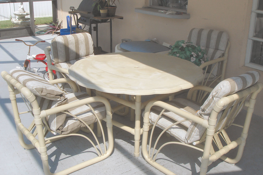 5pc Patio Dining Set - $95