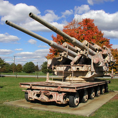 BI781 Flakzwilling 40 (listentoreason) Tags: history museum geotagged technology unitedstates military favorites maryland places worldwarii artillery groundforces