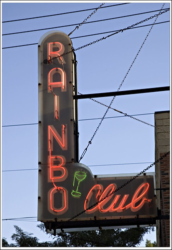 Rainbo Club neon
