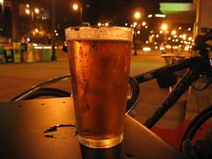 beer (eetree) Tags: sf sanfrancisco street beer bike night lowlight embarcadero monday eetree