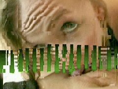 Les brouillages / Scrambled - 18 (jlndrr) Tags: portrait blur eye art girl face video ghost theory compression porn freezeframe damaged glitch scrambling codec selfcensorship compressionartifacts pornstudies macroblock