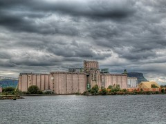 Grain terminal HDR (Bill Strong) Tags: ontario wow bravo grain terminal hdr amateurs thunderbay 1on1 photomatix thecontinuum 1exp 1on1photooftheday ci33