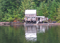 ...now this is isolation!... (axiepics) Tags: family canada reflection water reflections losangeles cabin bc britishcolumbia vancouverisland inlet shack alberniinlet sept06 ©copyrightalexskellyallrightsreserved