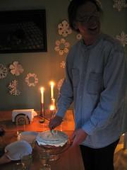 birthday (nosha) Tags: birthday snowflake cake candle nj hopewell 173 nosha