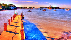 Stony Creek.jpg (slack12) Tags: ocean blue orange water marina boats lights harbor pier connecticut shoreline fantasy sailboats hdr branford slack12