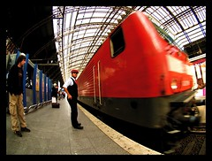 Train at Cologne Station