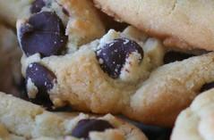 (Sarah Turner) Tags: food dessert cookie sweet goodies bake chocolatechips utatainhalf