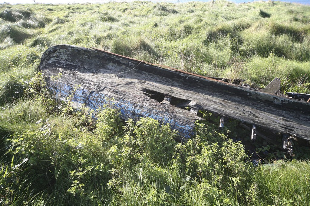 ROTTEN OLD BOAT