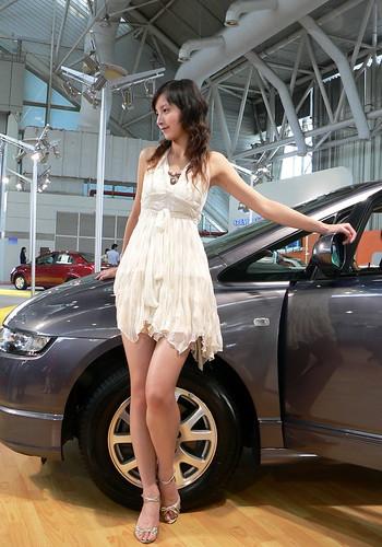 Honda show girl