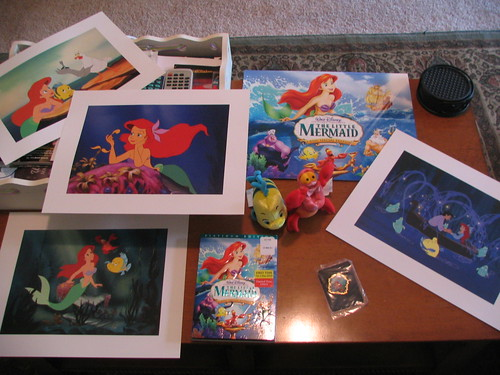 package #1: little mermaid!!