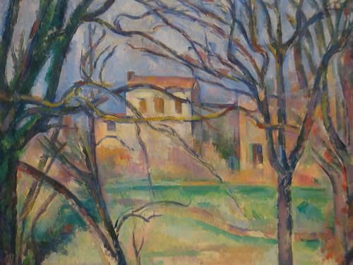 """Cezanne, """"Arbres et maisons"""""""