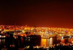 Hafen Hamburg bei Nacht (TIAN@OTF) Tags: pentax hamburg ds hafen istds hdr gj schiffe hdri nachtaufnahme pentaxistds mofa dockland grunerjahr solnzevo ultimateshot tianotf ah