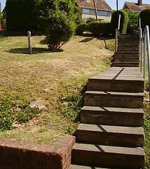 Front garden July 2006