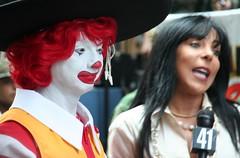 Evil Clown Interview (DaveSinclair) Tags: nyc ny newyork america manhatten