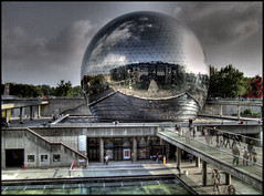 G-OD (JerOmm) Tags: paris reflection d50 ghost geode hdr villette photomatix jeromm hdrenfrancais