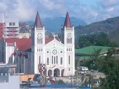 baguio cathedral (Rex Pe) Tags: philippines cordillera interestingplaces baguiocity churcharchitecture northernluzon placesofinterest churchstructures cordilleramountains
