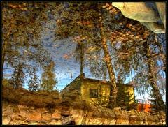 Autum, reflection in water (majeczka_majeczka) Tags: world autumn reflection nature water canon garden fantastic picture poland hdr slask iloveit odbicie jesien abigfave majeczkamajeczka naturestart ci33