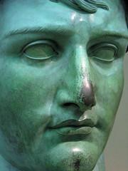 Napoleon Bonaparte bust, closeup - by Crashworks