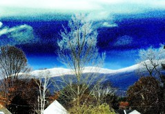 frosted blue brrrrrrrr (dwiggs) Tags: blue trees winter sky mountain cold clouds jack vermont frost mr rutland killington enhanced alwaysexcellent